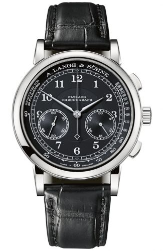 A. Lange & Söhne 414.028 : 1815 Chronograph White Gold / Black / Pulsometer