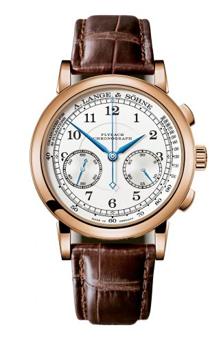 A. Lange & Söhne 414.032 : 1815 Chronograph Pink Gold / Silver / Pulsometer