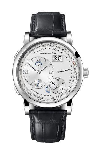 A. Lange & Söhne 116.039 : Lange 1 Timezone White Gold / Silver / Luminous