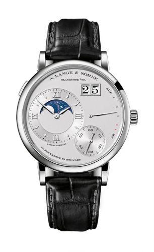 A. Lange & Söhne 139.025 : Grand Lange 1 Moonphase Platinum / Silver