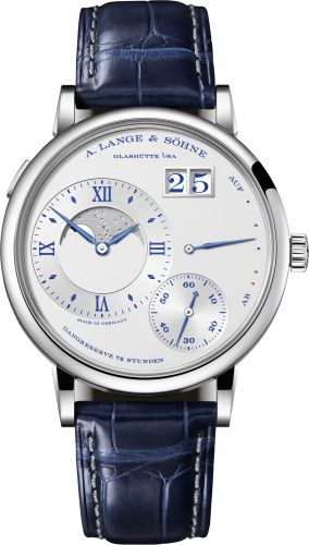 A. Lange & Söhne 139.066 : Grand Lange 1 Moonphase Day / Night White Gold / 25th Anniversary