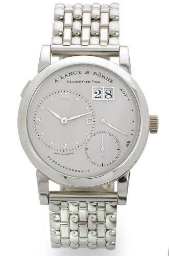 A. Lange & Söhne 151.025 : Lange 1 Platinum Bracelet