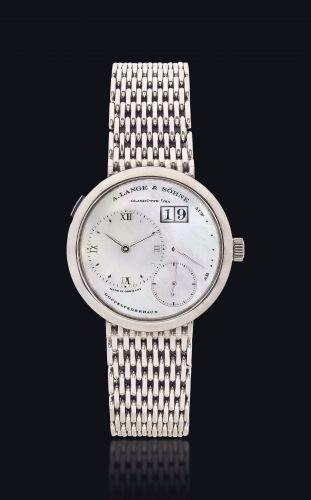A. Lange & Söhne 160.029 : Lange 1 White Gold MOP / Bracelet