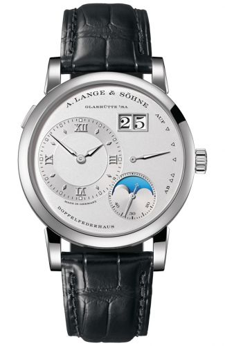 A. Lange & Söhne 192.025 : Lange 1 Moonphase Day / Night Platinum / Silver