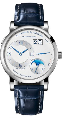 A. Lange & Söhne 192.066 : Lange 1 Moonphase Day / Night White Gold / 25th Anniversary