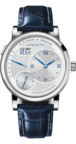 A. Lange & Söhne 320.066 : Lange 1 Daymatic White Gold / 25th Anniversary