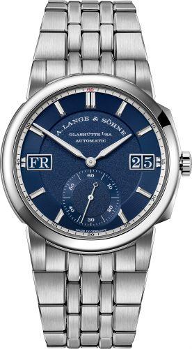 A. Lange & Söhne 363.179 : Odysseus Stainless Steel / Blue / Bracelet