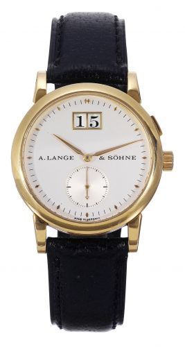 A. Lange & Söhne 105.021 : Saxonia Yellow Gold