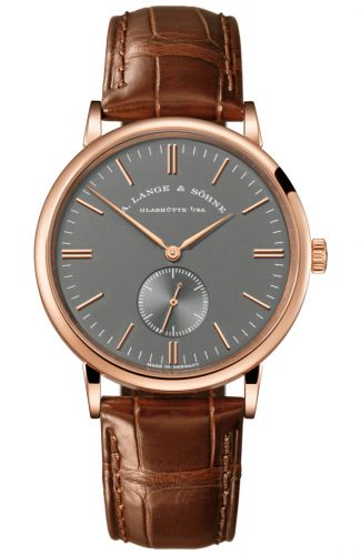 A. Lange & Söhne 216.033 : Saxonia Pink Gold / Grey / Boutique Edition