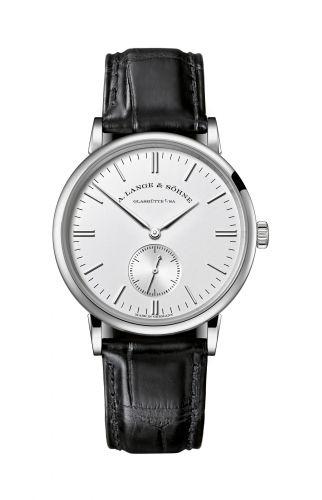 A. Lange & Söhne 219.026 : Saxonia 35 White Gold / Silver