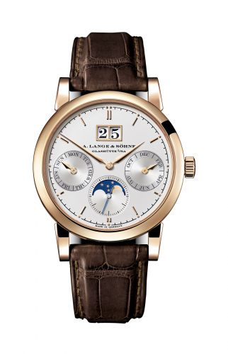 A. Lange & Söhne 330.032 : Saxonia Annual Calendar Pink Gold / Silver