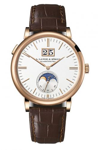 A. Lange & Söhne 384.032 : Saxonia Moonphase Pink Gold / Silver
