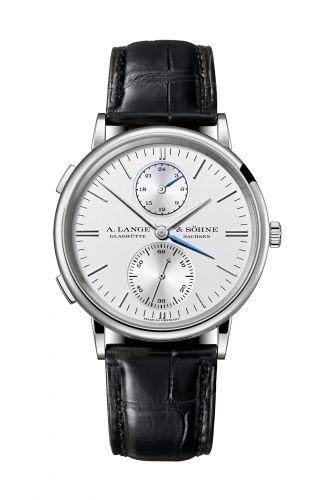 386.026 : A. Lange & Söhne Saxonia Dual Time White Gold