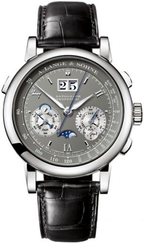 A. Lange & Söhne 410.030 : Datograph Perpetual White Gold / Grey
