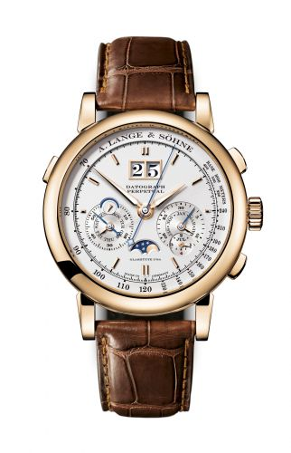 A. Lange & Söhne 410.032 : Datograph Perpetual Rose Gold / Silver
