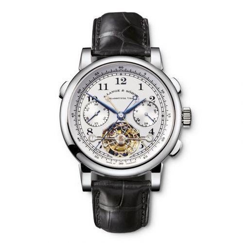 702.025 : A. Lange & Söhne Tourbograph Pour le Mérite Platinum / Silver