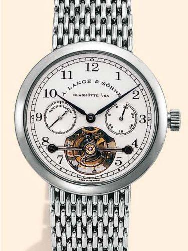 A. Lange & Söhne 751.005 : Tourbillon Pour le Mérite Platinum / Bracelet