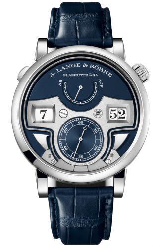 A. Lange & Söhne 147.028 : Zeitwerk Minute Repeater White Gold / Blue