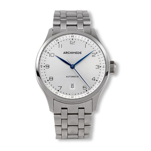 Archimede UA7969B-A3.3 : Klassik 39 Stainless Steel / Silver / Bracelet