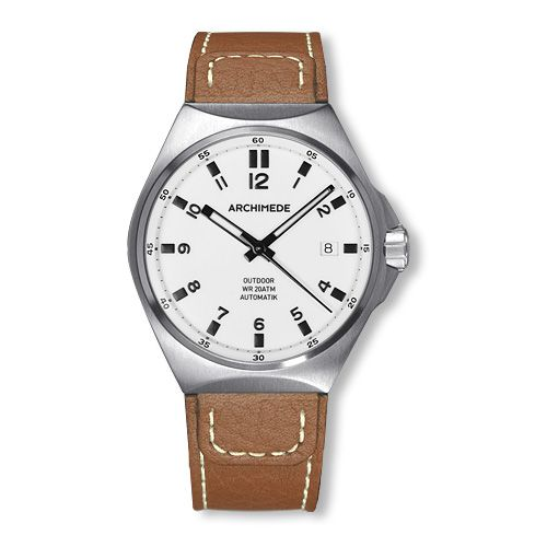 Archimede UA8239-A1.2-H : OutDoor 39 Protect Stainless Steel / Lume / Leather