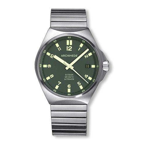 Archimede UA8239F-A4.1-H : OutDoor 39 Protect Stainless Steel / Green / Fixolex ®