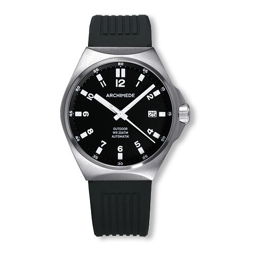 Archimede UA8239S-A2.1-H : OutDoor 39 Protect Stainless Steel / Black / Rubber