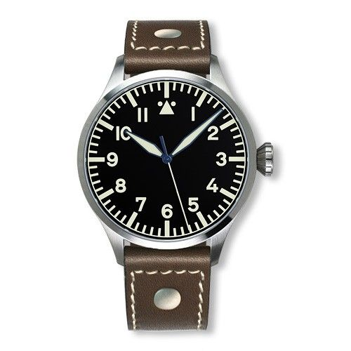 Archimede UA7929-A7.3 : Pilot 42 H Stainless Steel / Black