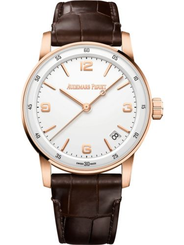 Audemars Piguet 15210OR.OO.A099CR.01 : CODE 11.59 Automatic Pink Gold / White