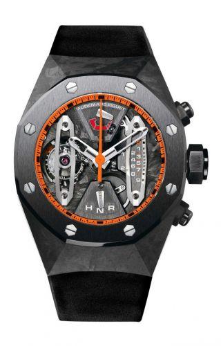 Audemars Piguet 26265FO.OO.D002CA.94 : Royal Oak Concept 26265 Carbon Tourbillon Chronograph Orange