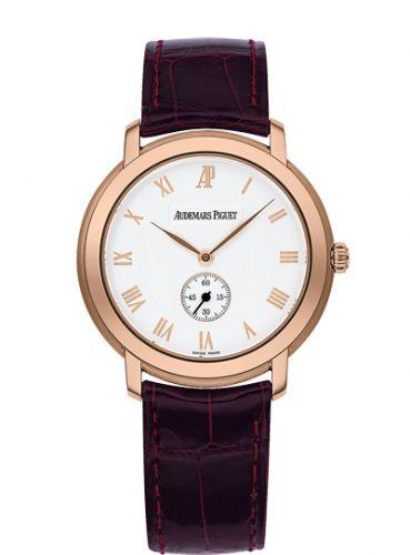 15056OR.OO.A067CR.02 : Audemars Piguet Jules Audemars Small Seconds Pink Gold / Silver