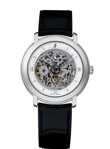 Audemars Piguet 15058BC.OO.A001CR.01 : Jules Audemars Skeleton Hand-Wound White Gold / Silver