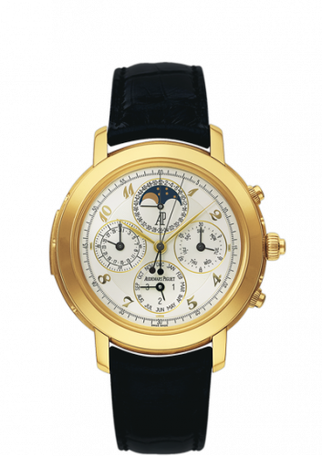 25866BA.OO.D002CR.02 : Audemars Piguet Jules Audemars 25866 Grande Complication Yellow Gold / White Breguet