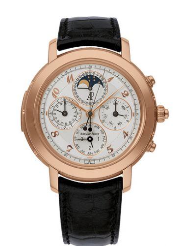 Audemars Piguet 25866OR.OO.D002CR.02 : Jules Audemars 25866 Grande Complication Pink Gold / White Breguet