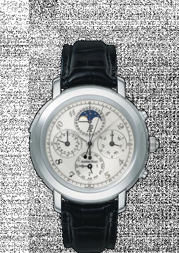 Audemars Piguet 25866PT.OO.D002CR.02 : Jules Audemars 25866 Grande Complication Platinum / White Breguet