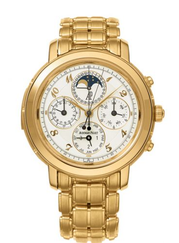 Audemars Piguet 25984BA.OO.1138BA.01 : Jules Audemars 25984 Grande Complication Yellow Gold / White Breguet / Bracelet