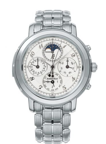 Audemars Piguet 25984PT.OO.1138PT.01 : Jules Audemars 25984 Grande Complication Platinum Gold / White Breguet / Bracelet