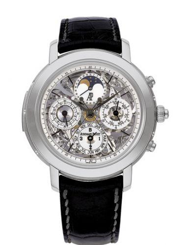 25996PT.OO.D002CR.01 : Audemars Piguet Jules Audemars Grande Complication Platinum / Sapphire