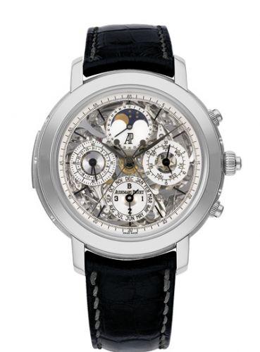 Audemars Piguet 25996TI.OO.D002CR.01 : Jules Audemars Grande Complication Titanium / Sapphire