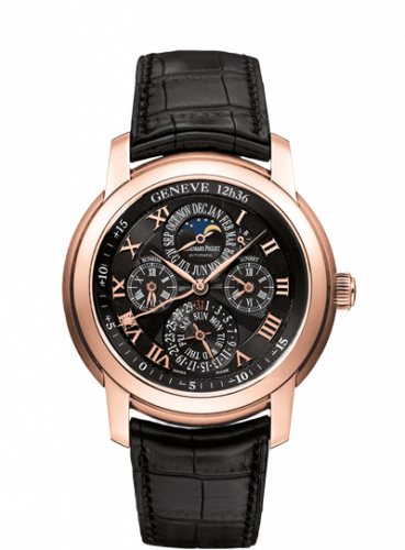 Audemars Piguet 26003OR.OO.D002CR.01 : Jules Audemars 26003 Equation of Time Pink Gold / Black