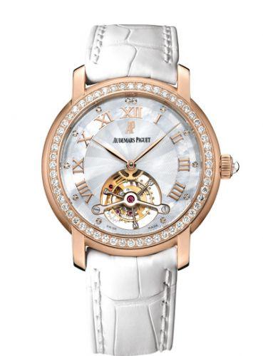 26084OR.ZZ.D016CR.01 : Audemars Piguet Jules Audemars Tourbillon Pink Gold / Diamond / MOP
