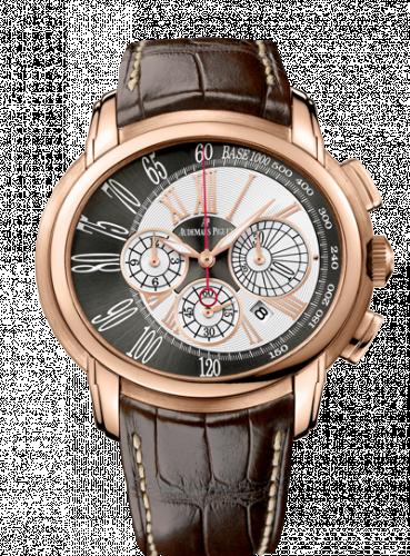 Audemars Piguet 26145OR.OO.D093CR.01 : Millenary Chronograph Pink Gold / Brown