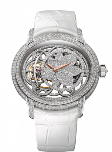 Audemars Piguet 26354BC.ZZ.D204CR.01 : Millenary Tourbillon White Gold / Diamond
