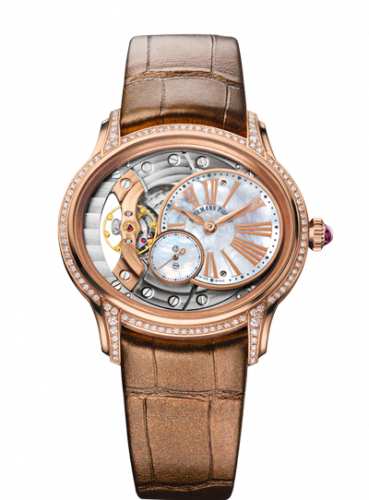 77247OR.ZZ.A812CR.01 : Audemars Piguet Millenary Hand-wound Pink Gold / Mother of Pearl