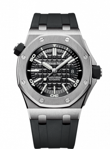 15710ST.OO.A002CA.01 : Audemars Piguet Royal Oak Offshore Diver Stainless Steel / Black