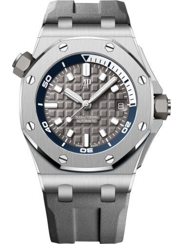 Audemars Piguet 15720ST.OO.A009CA.01 : Royal Oak Offshore Diver Stainless Steel / Grey