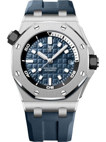 Audemars Piguet 15720ST.OO.A027CA.01 : Royal Oak Offshore Diver Stainless Steel / Blue