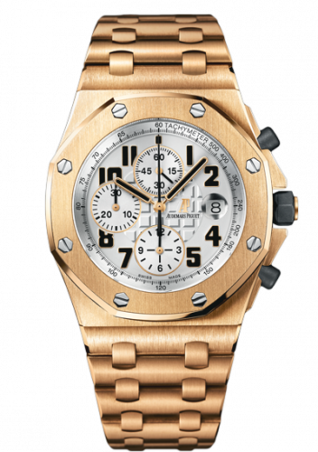 Audemars Piguet 26170OR.OO.1000OR.01 : Royal Oak Offshore 26170 Chronograph Pink Gold