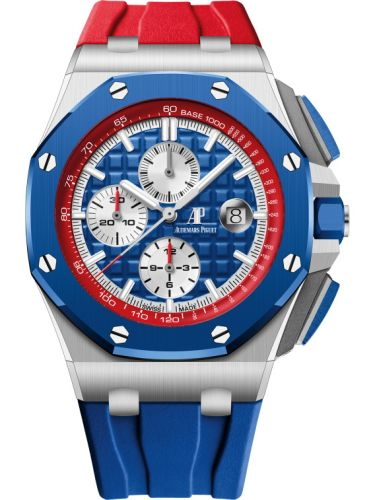 Audemars Piguet 26400SO.OO.A502CA.01 : Royal Oak Offshore 44 Stainless Steel / Ceramic / Ryder Cup USA