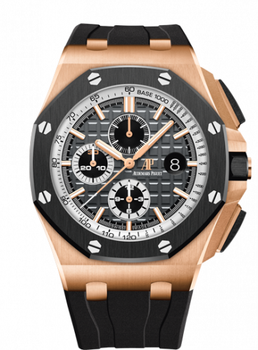 Audemars Piguet 26416RO.OO.A002CA.01 : Royal Oak Offshore 44 Pride of Germany Pink Gold