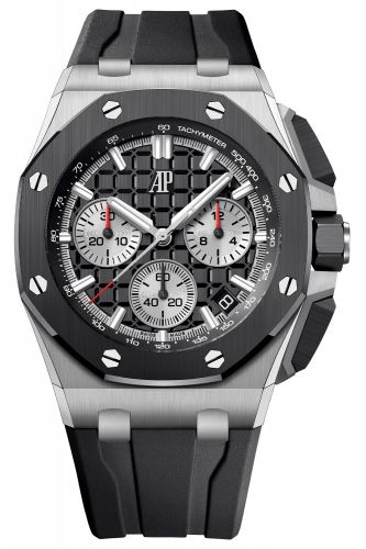 Audemars Piguet 26420SO.OO.A002CA.01 : Royal Oak Offshore 43 Stainless Steel / Ceramic / Black